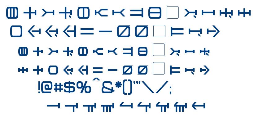 Graalen font