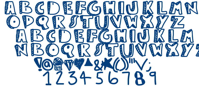 Guest service font