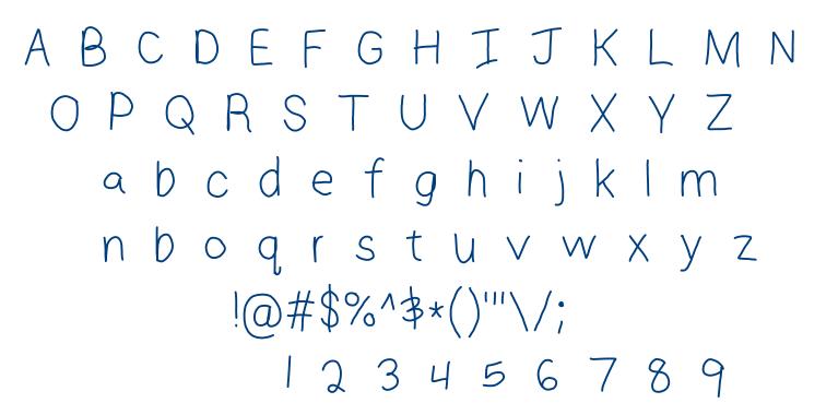 Jaymse font font