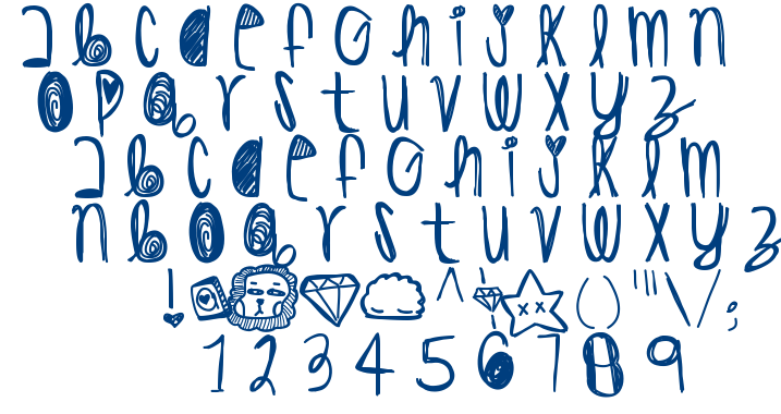 His Highness font