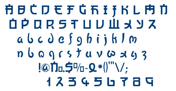 Kato font