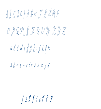 Last Hand font