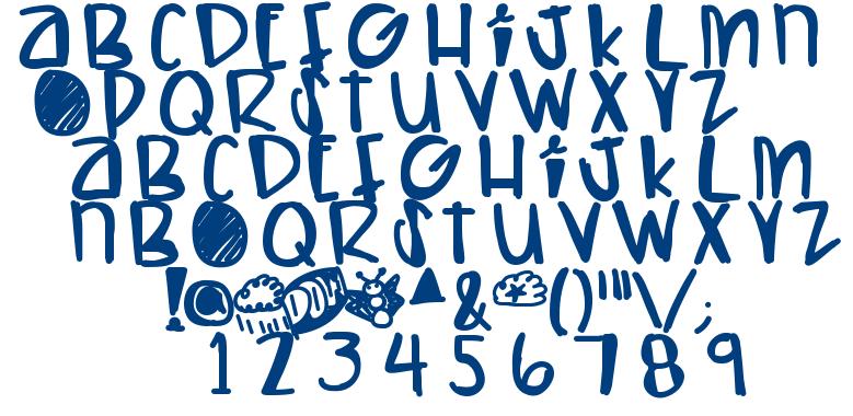 Lets Have AKiki font