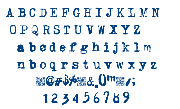 Light Fingers font