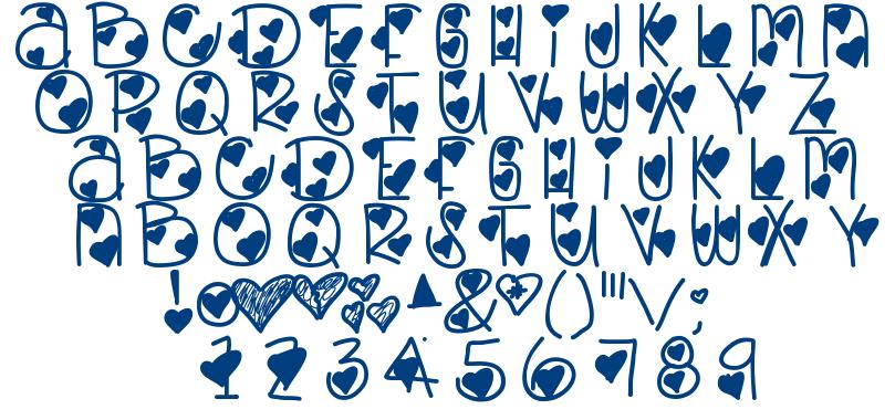Lovely Bitch font
