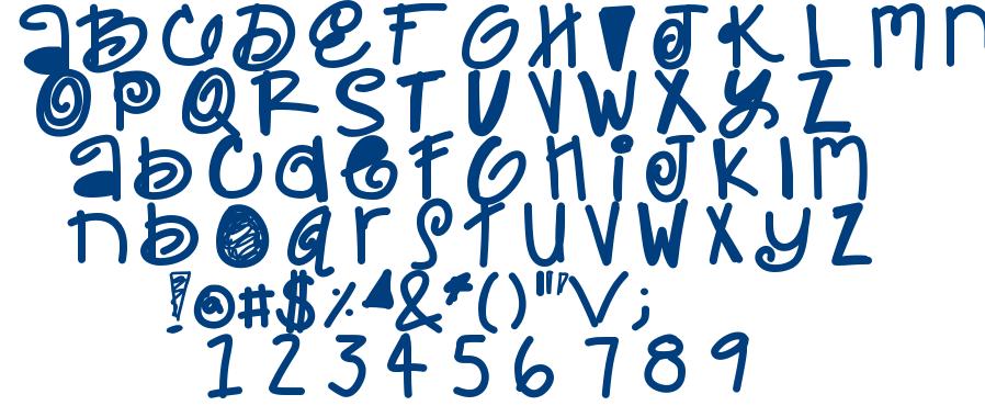 Maulie font