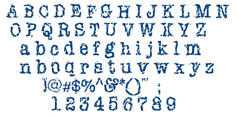 New York Punk font