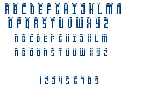NewcastlE font