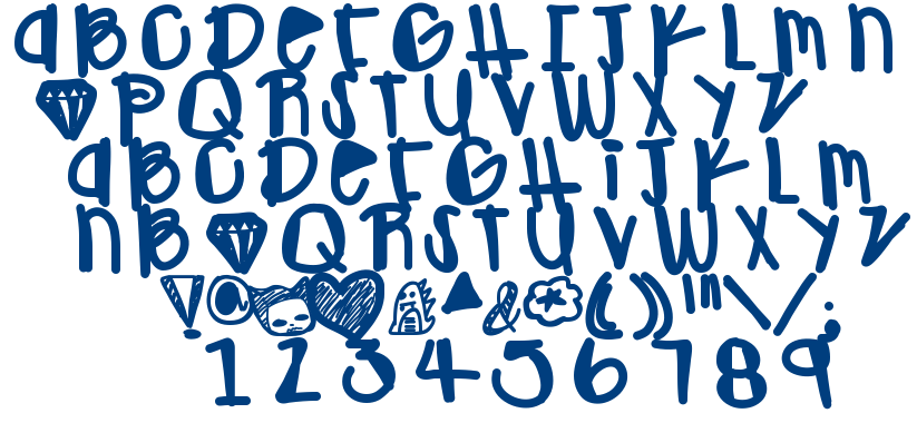 OhGawd font