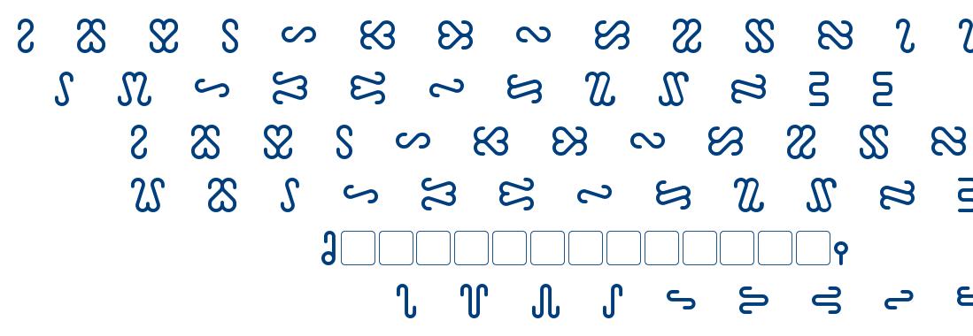 Ophidian font