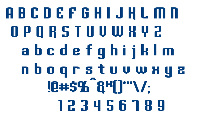 Palisoc font