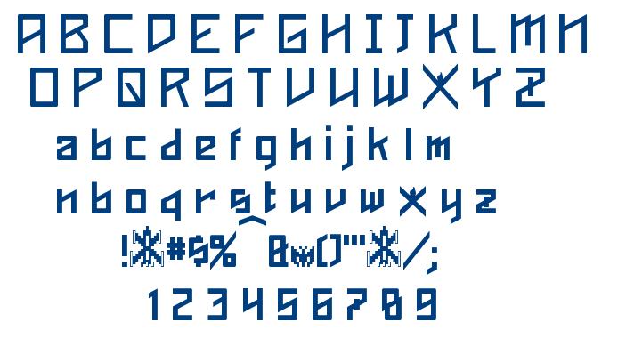Phoenixians font