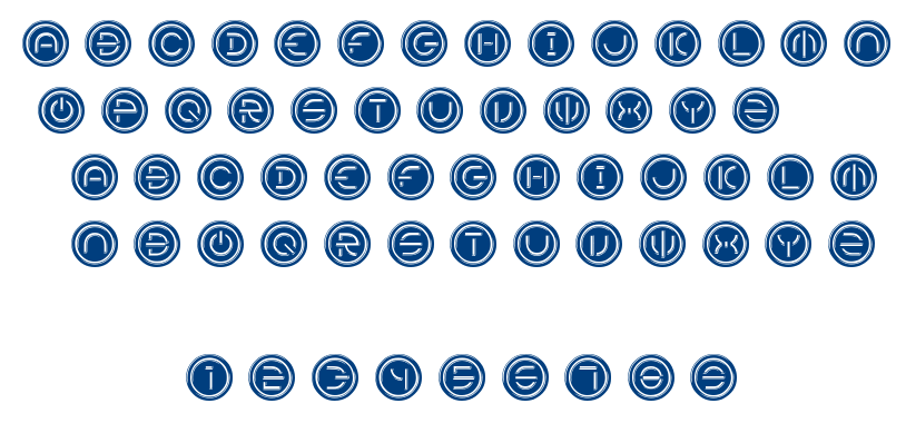 Power font