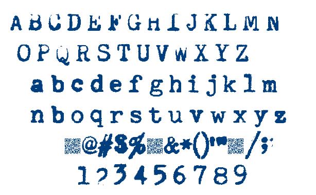 Quiet Typer font