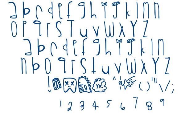 Rawrrr font