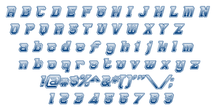 Robbie Rocketpants font