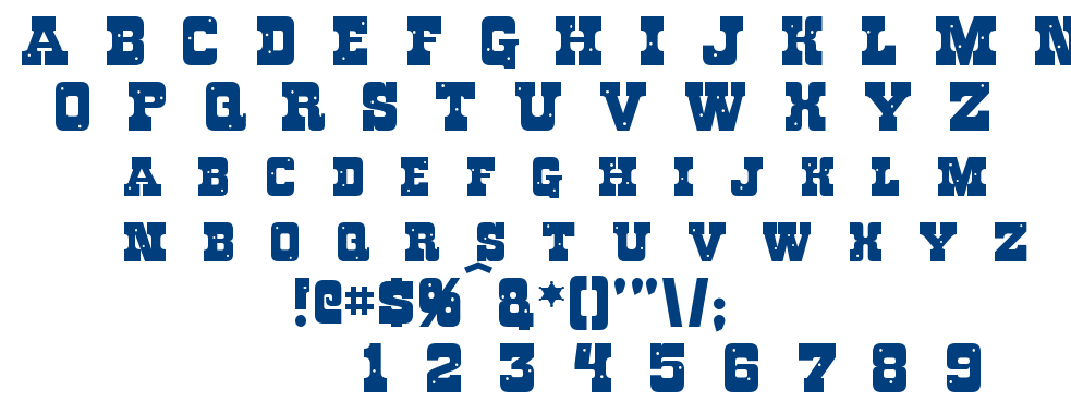 Rough Knight font