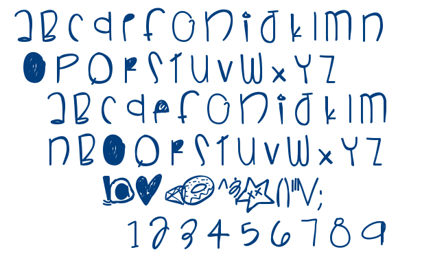Sneaky Boy font