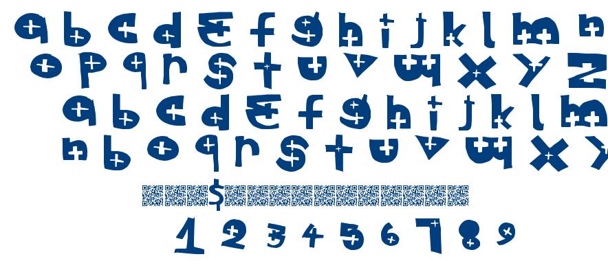 Special Exit font