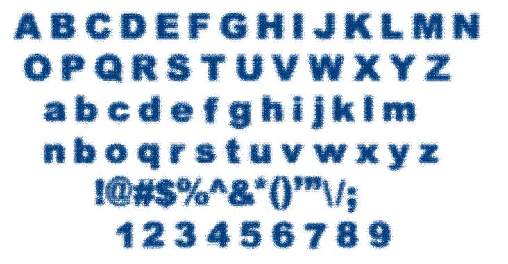 STATIC BUZZ font