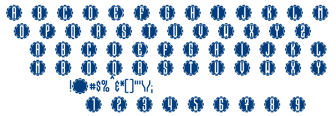 Steamcog font