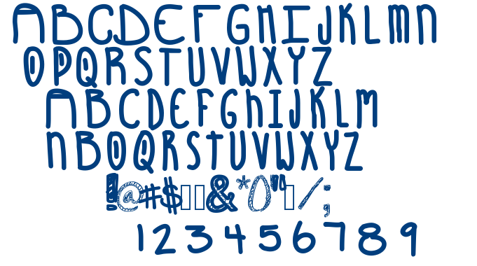 Sunshines Coming font