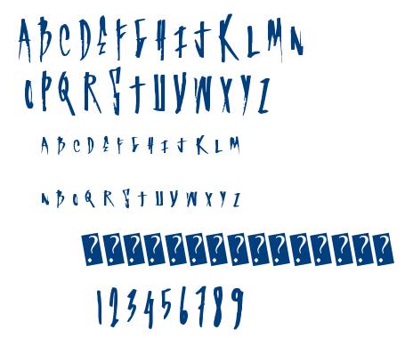 Super Graf font
