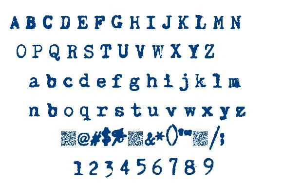 Super Keys font