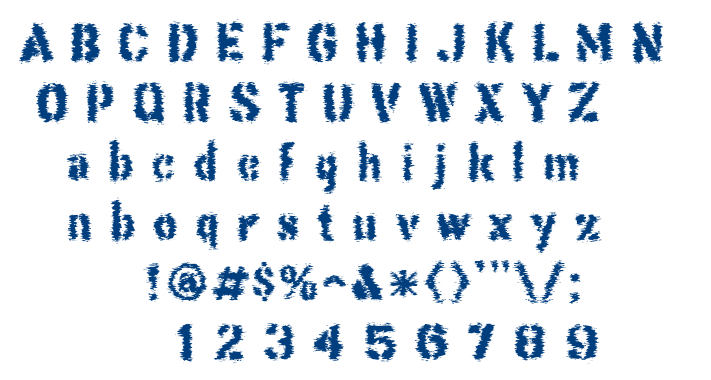 This Corrosion font