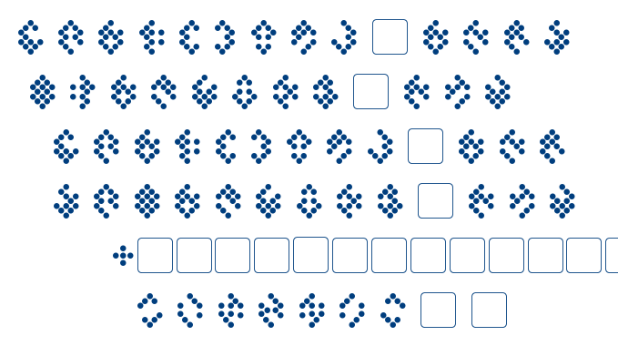 Tellarite font