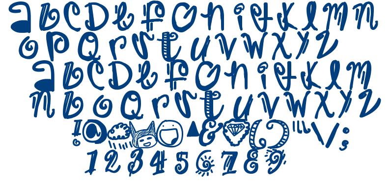 Trap font