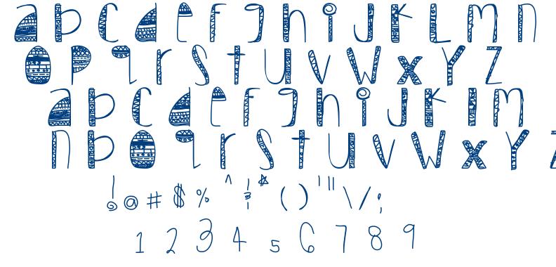 Tribal font