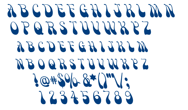 Victor Moscoso font
