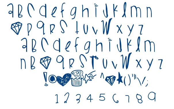 Wifi Love Boo font