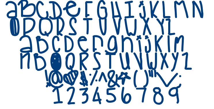 Woah font