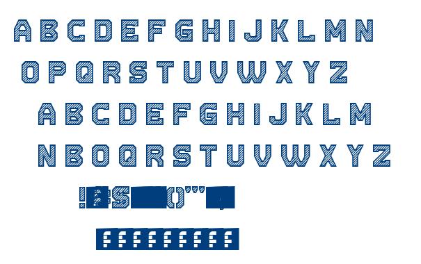 Cut The Paper font