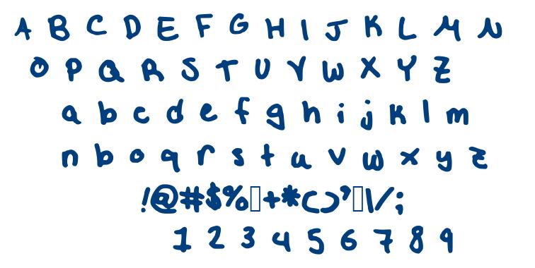 Etw font
