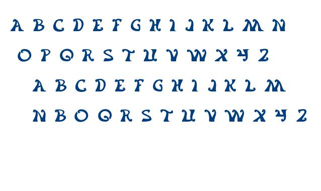 Flower Generation font