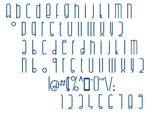 Highalto font