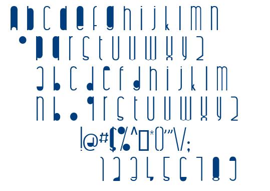Highaltodecor font