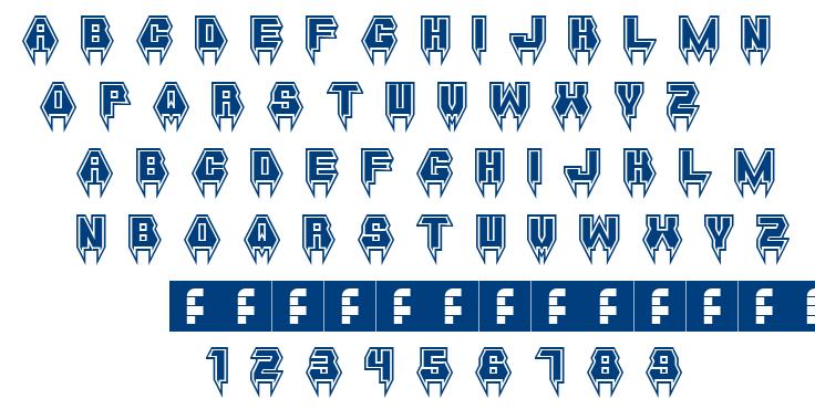 Metal Vampire font