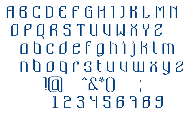 Nymeria font