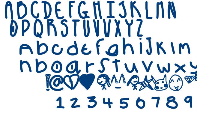 pow font