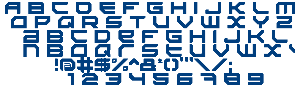Sector 034 font