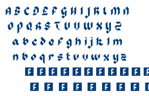 Sir Robin's Minstrels font