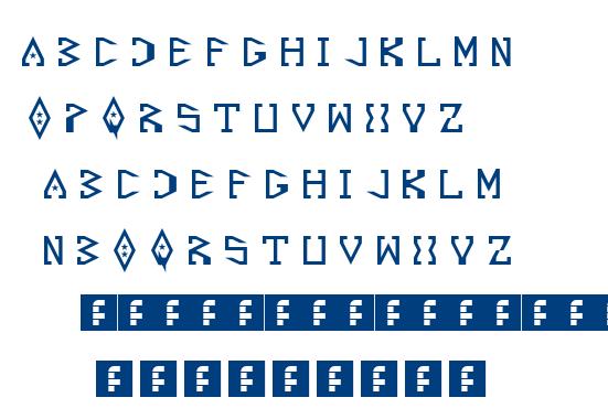 Starscraper font