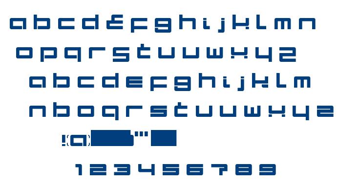 Terminal LDR font