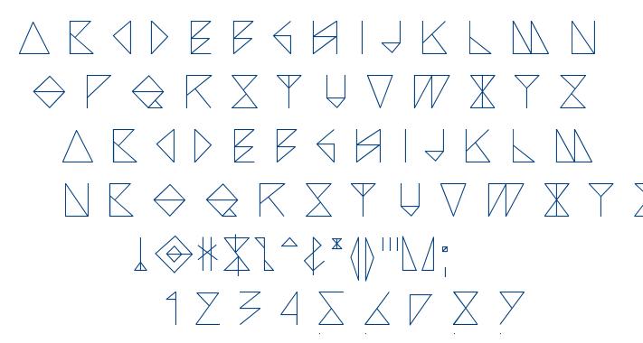 Arccos font