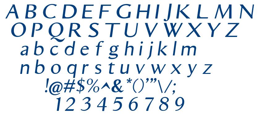 Aristocrat font