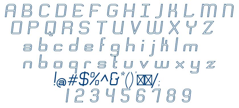 Engadi font